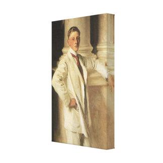 Earl of Dalhousie by Sargent, Vintage Portrait Art Canvas Print