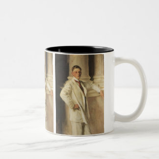 Earl of Dalhousie by Sargent, Vintage Portrait Art Two-Tone Coffee Mug