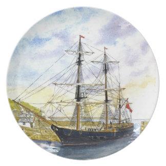 'Earl of Pembroke Returns' Plate