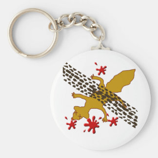 Earl The Dead Squirrel Basic Round Button Keychain