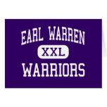 Earl Warren - Warriors - High - San Antonio Texas Card