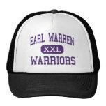 Earl Warren - Warriors - High - San Antonio Texas Hats