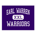 Earl Warren - Warriors - High - San Antonio Texas Post Card