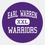 Earl Warren - Warriors - High - San Antonio Texas Sticker