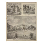 Earlham College, Richmond Poster