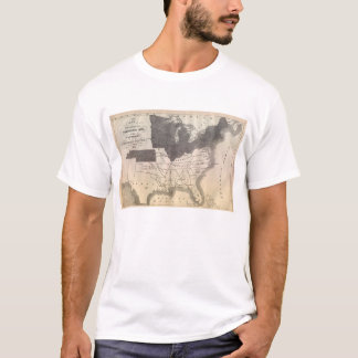 Earliest Known Map of the Confederacy T-Shirt