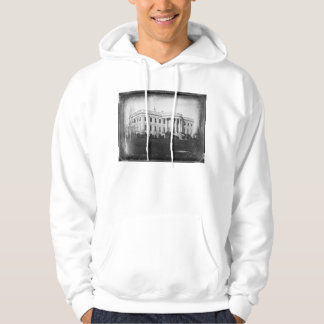 Earliest Known Photograph of the White House 1846 Hoodie