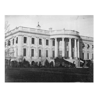 Earliest Known Photograph of the White House 1846 Postcard