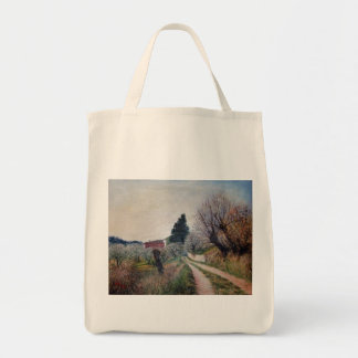 EARLIEST SPRING IN TUSCANY TOTE BAG