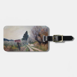 EARLIEST SPRING IN VERNALESE / Tuscany L Parchment Tags For Luggage