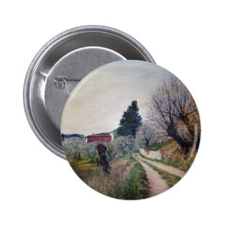 EARLIEST SPRING IN VERNALESE / Tuscany Landscape Pins