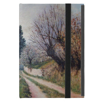 EARLIEST SPRING IN VERNALESE / Tuscany Landscape Cover For iPad Mini