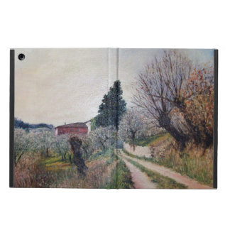 EARLIEST SPRING IN VERNALESE / Tuscany Landscape iPad Air Cover