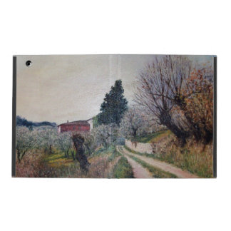 EARLIEST SPRING IN VERNALESE / Tuscany Landscape iPad Cover