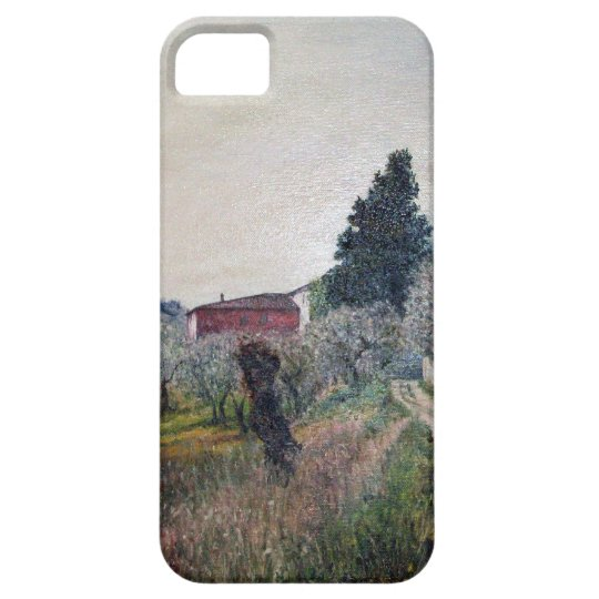 EARLIEST SPRING IN VERNALESE / Tuscany Landscape iPhone SE/5/5s Case