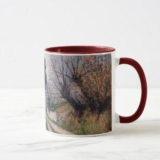 EARLIEST SPRING IN VERNALESE / Tuscany Landscape Mug
