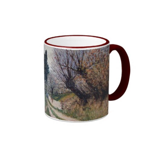 EARLIEST SPRING IN VERNALESE / Tuscany Landscape Mugs