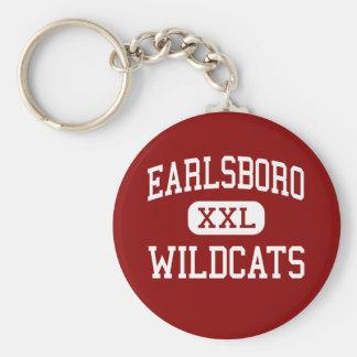 Earlsboro - Wildcats - High - Earlsboro Oklahoma Keychain
