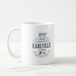 Earlville, Illinois 150th Anniversary Mug