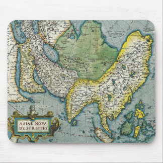 Early 16th Century Map of Asia Mouse Pad