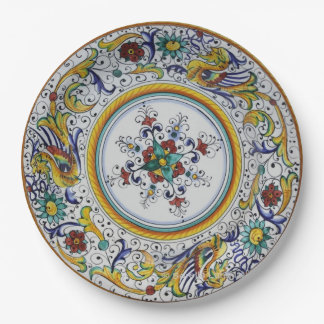 Early 16th Century Paper Plates from Umbria