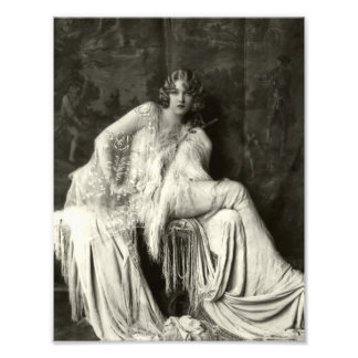 Early 1900s French Beauty Photographic Print