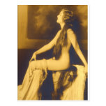 Early 1900s French Pin Up Post Card