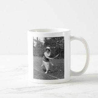 Early 1900s Tennis Fashion Mug