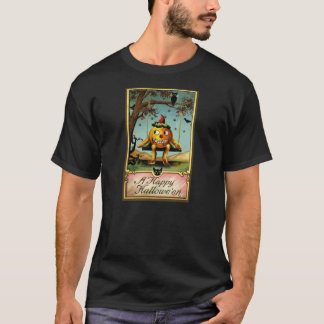 Early 1900s Vintage Halloween Postcard Shirt