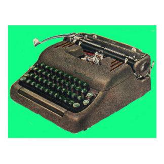 early 1950s Smith Corona typewriter Postcard