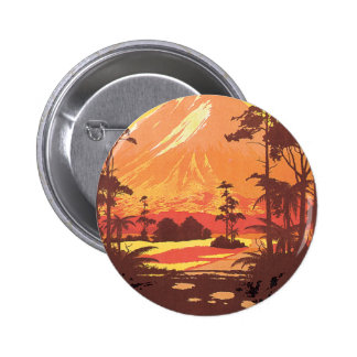 Early 20th century New Zealand Painting Pinback Button