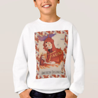 Early 20th century vintage advertising sweatshirt