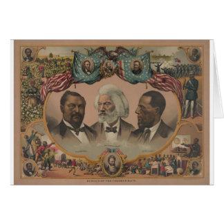 Early African American Heroes Card