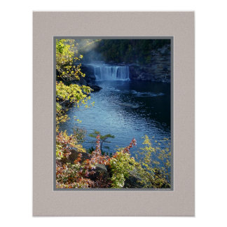 Early Autumn at Cumberland Falls, Kentucky Posters