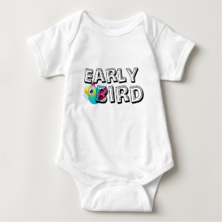 Early Bird Baby Matching Bodysuit