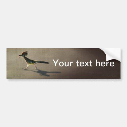 Early Bird, bumper sticker