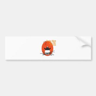 Early Bird Car Bumper Sticker