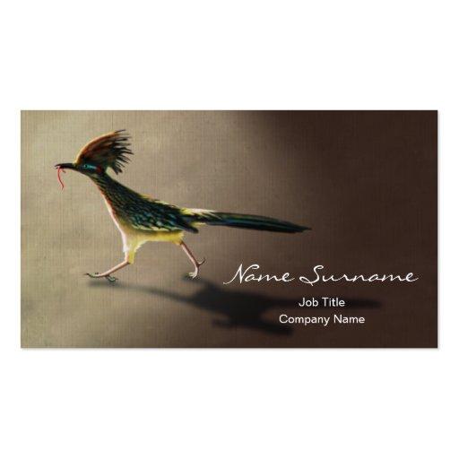 Early Bird, business card template