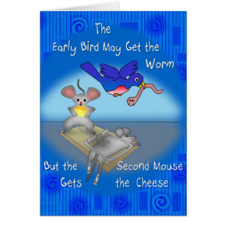Early Bird Card