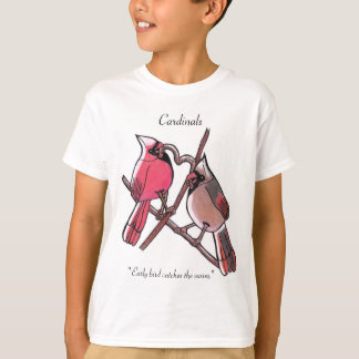 Early bird catches the worm T-Shirt
