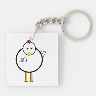 Early Bird Club Keychain