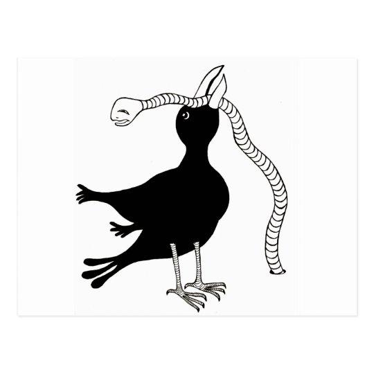 early bird postcard