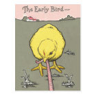 Early Bird Real Estate Prospecting Postcard