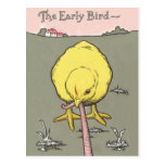 Early Bird Real Estate Prospecting Postcard