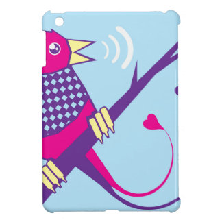 Early Bird singing iPad Mini Cover