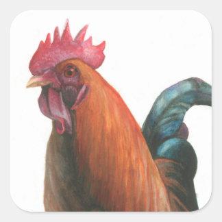 Early Bird Square Sticker
