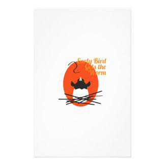 Early Bird Stationery Paper
