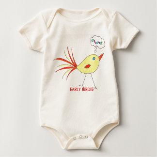 EARLY BIRDIE BABY BODYSUIT