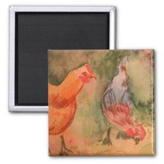 Early Birds Fridge Magnet