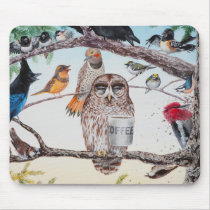 """Early Birds"" Mousepad"
